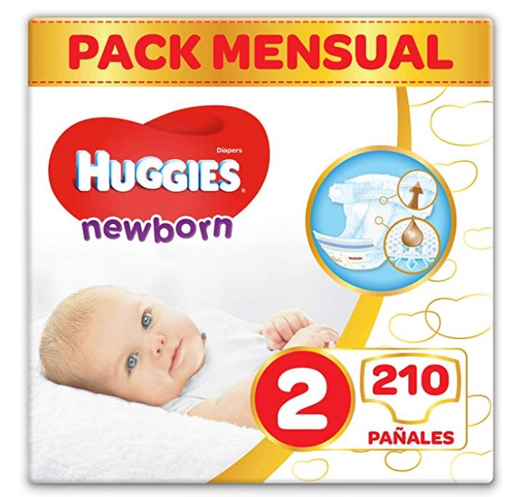 Panales para recien nacidos Huggies Newborn