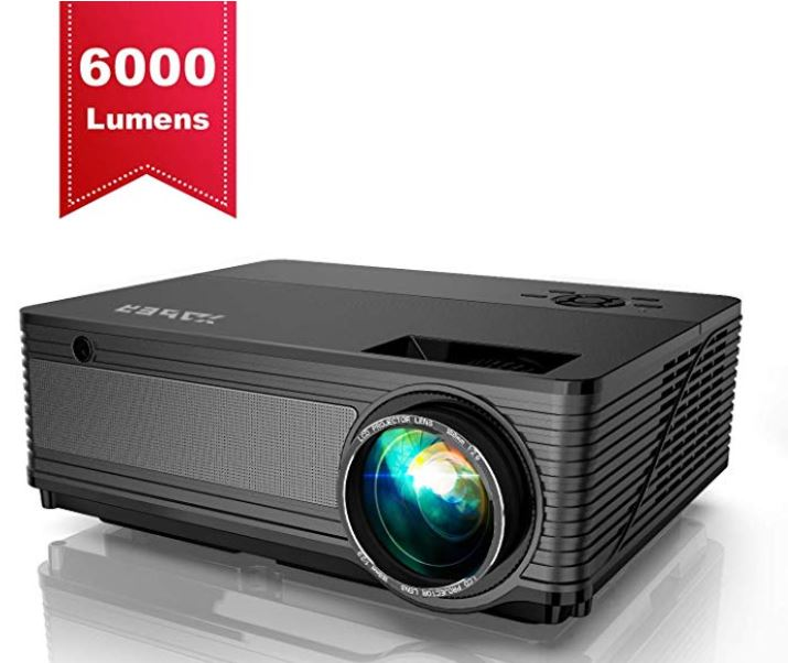 Proyector YABER 6000 Lumenes Proyector Full HD 1920x1080P