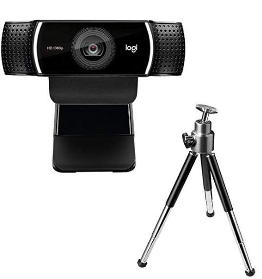 mejor webcam para streaming Logitech C922 Pro Stream Webcam