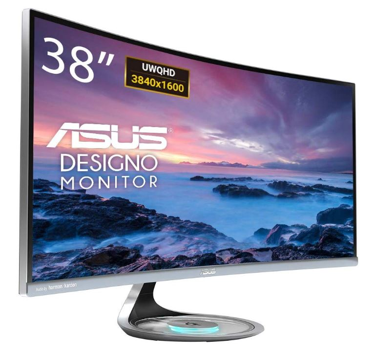 mejor monitor Asus Designo Curve MX38VC
