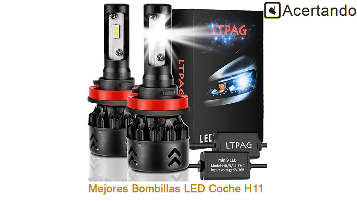 Luces Para Coche Aumenta La Seguridad En La Noche LED Lámparas 6W 12V 6000K