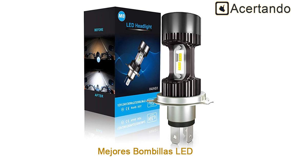 Mejores Bombillas LED para Moto