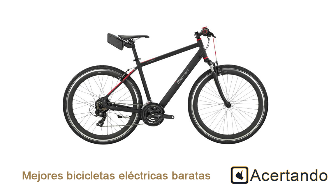 Mejores bicicletas electricas baratas
