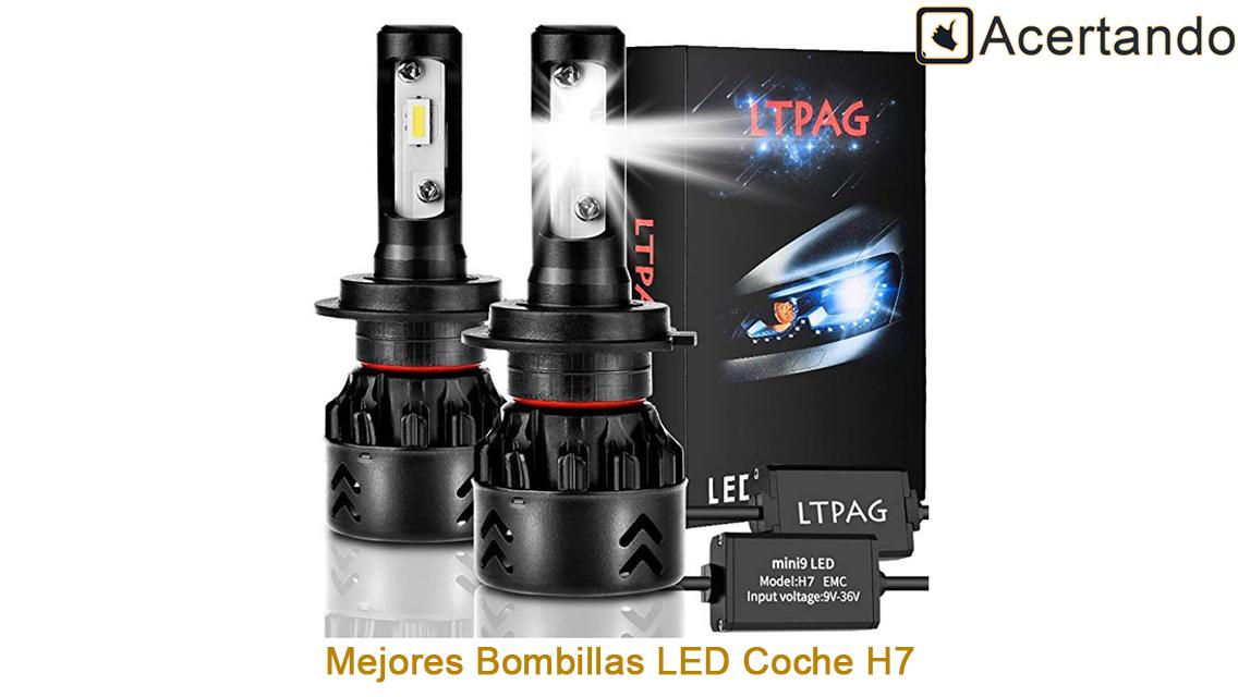 Mejores bombillas LED Coche H7