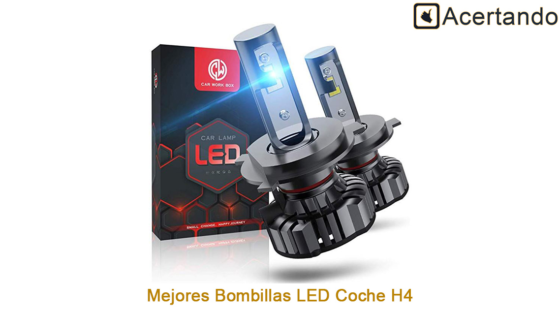 Mejores bombillas LED para Coche H4