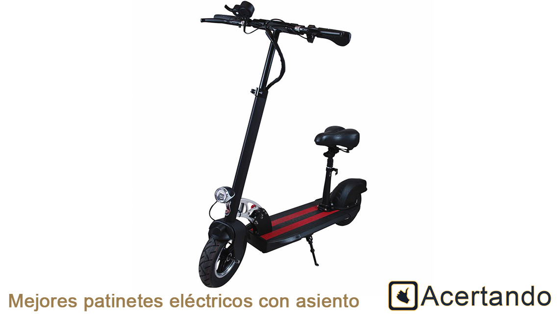 Mejores patinetes electricos con asiento