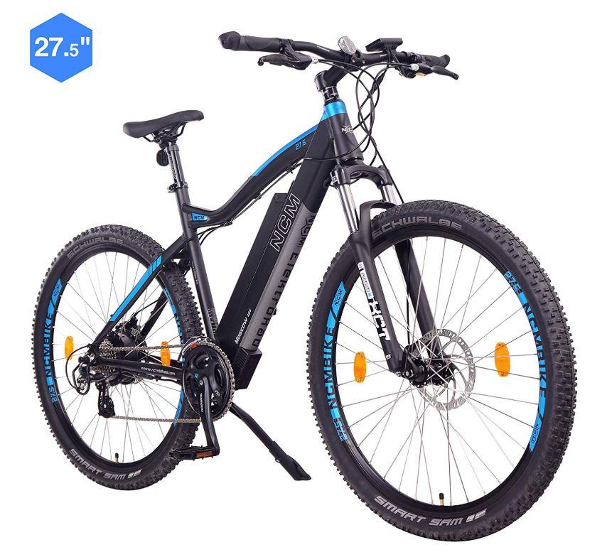 NCM Moscow Bicicleta electrica de montana