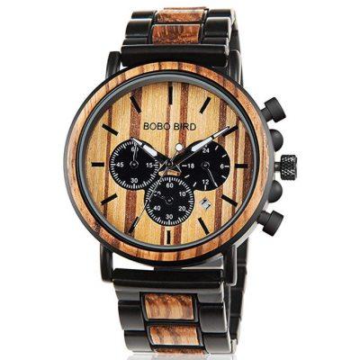 reloj barato hombre de madera