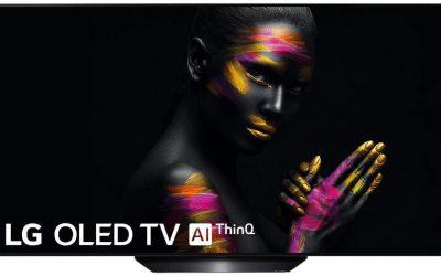 mejor televisor 4k calidad precio 2020 LG OLED55B9PLA, Smart TV OLED 4K UHD De 55 pulgadas