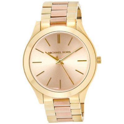 Michael Kors Slim Runway - Reloj de Acero Inoxidable para Mujer de moda