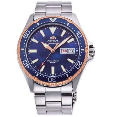 Orient - Reloj de Pulsera Azul RA-AA0007A09B