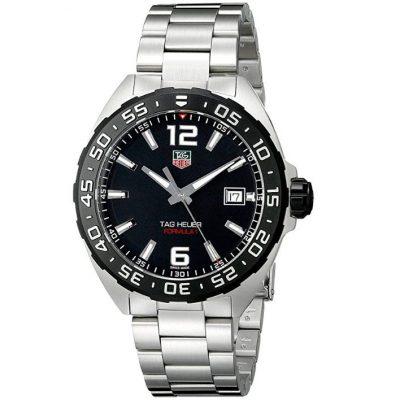 Tag Heuer waz1110 ba0875 - Reloj de pulsera, correa de acero inoxidable, color plateado