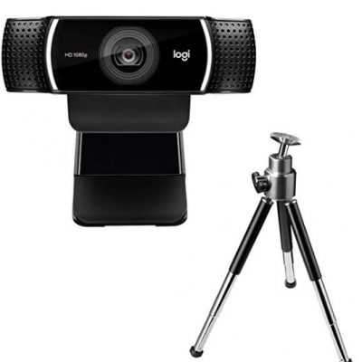 mejor webcam para streaming Logitech C922 Pro Stream Webcam
