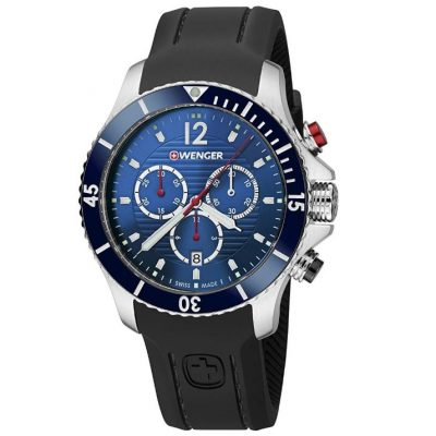 reloj suizo Wenger Reloj Cronógrafo para Unisex de Cuarzo